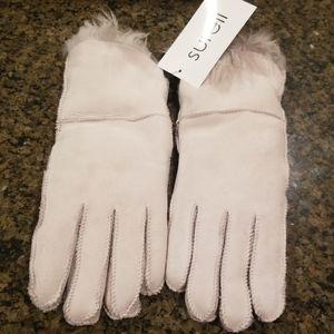 NWT Surell Genuine Sheepskin & Shearling Gloves
